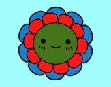 Florecita infantil