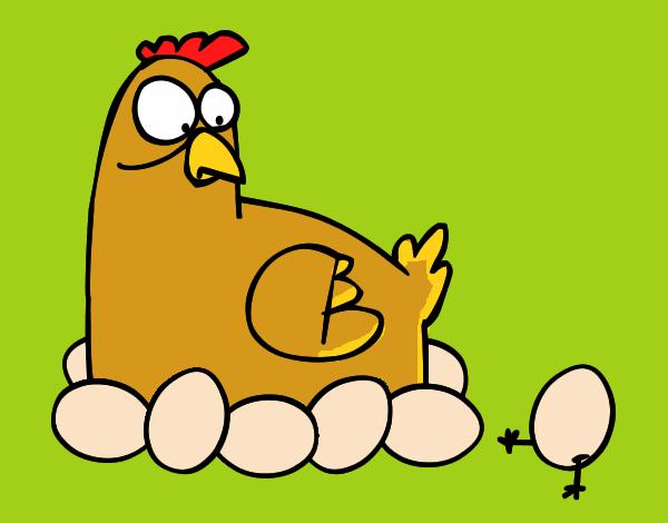 dibujos gallinas:
