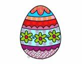 Dibujo Huevo de Pascua floral pintado por LUCECITA07