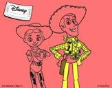 Jessie y Woody