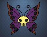 Dibujo Mariposa Emo pintado por panmi