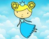 Princesa volando