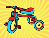 Dibujo Triciclo para niños pintado por natachita8