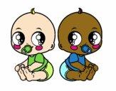 Bebés gemelos