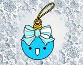 Dibujo Bola navideña pintado por AnaStones