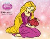 Enredados - Rapunzel con farolillo