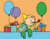 Dibujo Fiesta de cumpleaños pintado por AnaStones