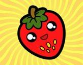 Fresa feliz