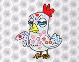 Gallo malhumorado