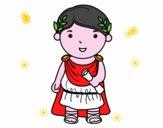 Julio César de niño