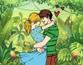 Dibujo Pareja enamorada pintado por AnaStones