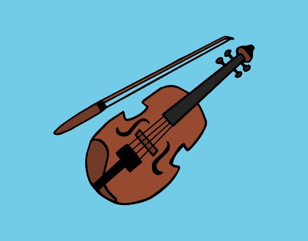 Dibujos De Violines Para Colorear