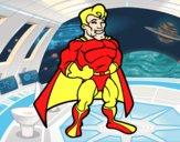 Superhéroe musculado