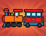 Tren alegre