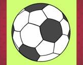 Dibujo Pelota de fútbol II pintado por eula