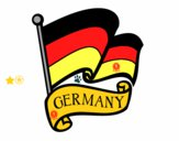 Dibujo Bandera de Alemania pintado por TobiKiller