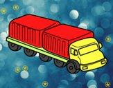 Dibujo Camión largo pintado por iamvp