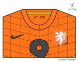 Camiseta del mundial de fútbol 2014 de Holanda