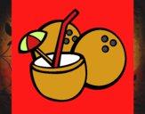 Cóctel de coco