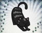 Dibujo Gato vago pintado por DarkNeko