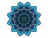 Mandala flor natural