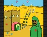 Dibujo Marruecos pintado por neymarisma