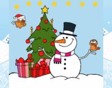 Dibujo Navidad II pintado por LunaLunita