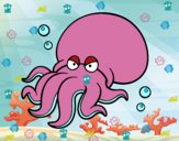 Dibujo Octopoda pintado por dany9