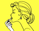 Pintar los labios