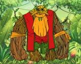 Dibujo Rey de los bosques pintado por queyla