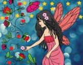 Dibujo Sílfide pintado por LunaLunita