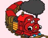 Tren sonriente