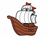 Dibujo Barco de corsarios pintado por Valepxndx