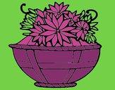 Dibujo Cesta de flores 11 pintado por amalia
