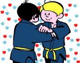 Judo amistoso