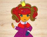 Dibujo Princesa del invierno pintado por RocioNayla