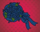 Dibujo Ramo de gardenias pintado por amalia