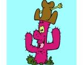 Cactus con sombrero