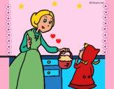 Dibujo Caperucita roja 2 pintado por LunaLunita