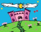 Dibujo Castillo maléfico pintado por LunaLunita