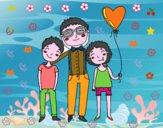 Padre e hijos