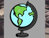 Dibujo Bola del mundo II pintado por cristicarl