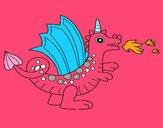 Dibujo Dragón alegre II pintado por Potte