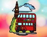 Dibujo Londres pintado por superbea