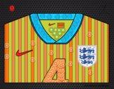Camiseta del mundial de fútbol 2014 de Inglaterra