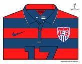 Camiseta del mundial de fútbol 2014 de los Estados Unidos