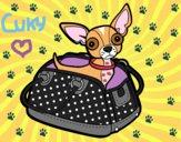 Chihuahua de viaje