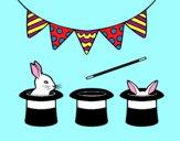 Conejos y chisteras