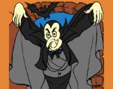 Dibujo Drácula pintado por LunaLunita