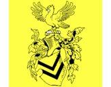 Escudo de armas y aguila